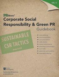 Corporate Social Responsibility & Green PR - PR News