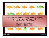 Who are Influencers, Why do they matter, & How Do We ... - PR News