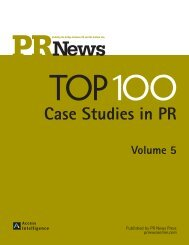 Case Studies in PR - PR News