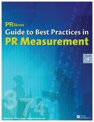 Guide to Best Practices in - PR News