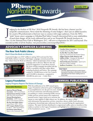 Special Issue - PR News