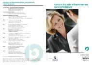 ratschläge für hörbehinderte und guthörende - Pro Audito Schweiz