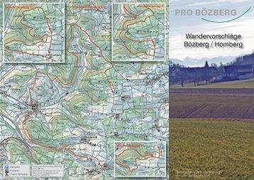Wandervorschläge Bözberg / Homberg - Pro Bözberg