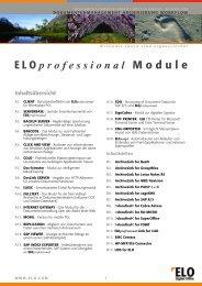 ELO professional Module - id-netsolutions GmbH