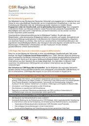 Informationen zum Projekt - LAG Pro Ehrenamt