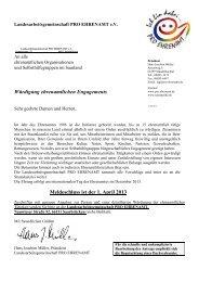 Antrag für Bundesverdienstmedaille - LAG Pro Ehrenamt