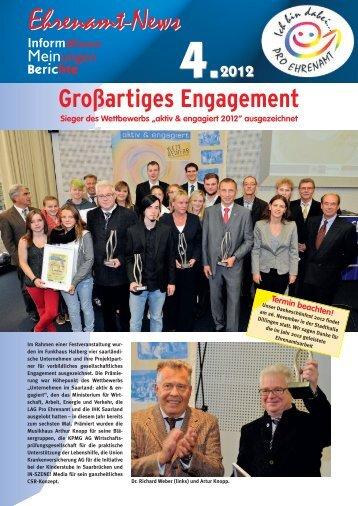 Ehrenamt-News 4-2012 - LAG Pro Ehrenamt