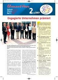 Ehrenamt-News - LAG Pro Ehrenamt