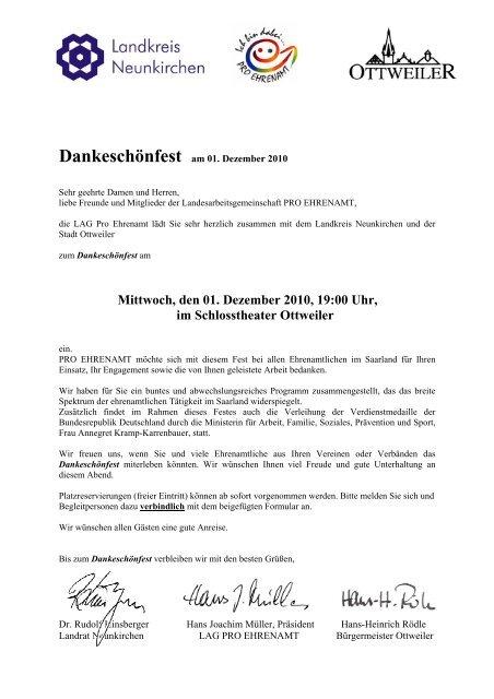 Mittwoch, den 01. Dezember 2010, 19:00 Uhr, im Schlosstheater ...