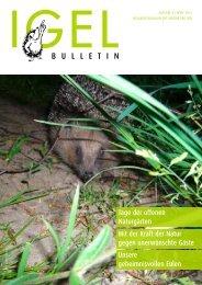 Bulletin 43 - Verein Pro Igel