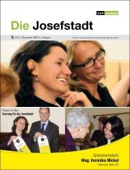 Die Josefstadt - Pro Josefstadt