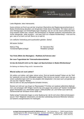 Prolegal Briefkopf
