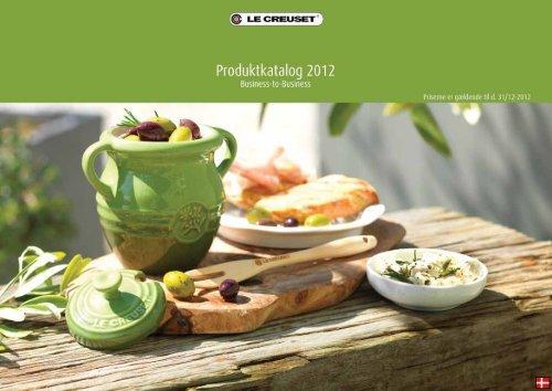Le Creuset produktkatalog B2B 2012 - PRO-mote