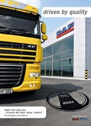 DAF und PACCAR Financial - EBB Truck Center Gmbh