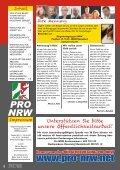 achtseitige Infozeitung - Pro NRW - Page 2