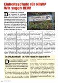 achtseitige Infozeitung - Pro NRW - Page 6