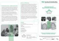 Beratungsnetzwerk Mecklenburg - Pro Qualifizierung