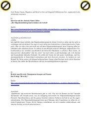 Weiterführende Informationen Migrantinnen - Pro Qualifizierung