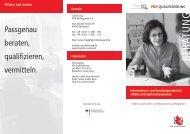 Informations- und Beratungsnetzwerk ARGEn ... - Pro Qualifizierung