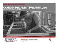 Arbeitsmarktdaten März 2006 - Pro Qualifizierung