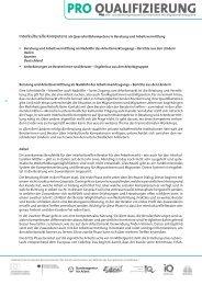 Interkulturelle Kompetenz als ... - Pro Qualifizierung