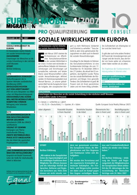 4/2007 EUROPA:MOBIL - Pro Qualifizierung