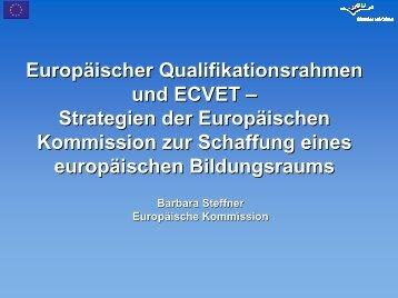 Europäischer Qualifikationsrahmen und ECVET ... - Migration-online