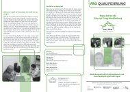 Mạng lưới tư vấn Khu vực Trung Mecklenburg - Pro Qualifizierung