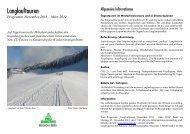 Prospekt - Pro Senectute Region Bern