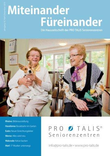 Miteinander Füreinander 3/2013 - pro talis