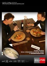 Paiste - Create your own Catalogue. - Pro-Technica
