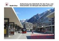 Bahnhof Chur - Pro Velo Schweiz