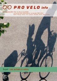 Les achats à vélo - Pro Velo Schweiz