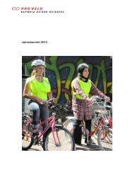 Jahresbericht 2012 - Pro Velo Schweiz