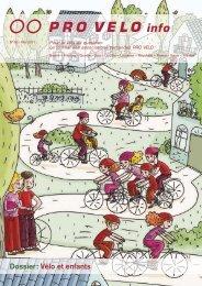 Dossier : Vélo et enfants - Pro Velo Schweiz