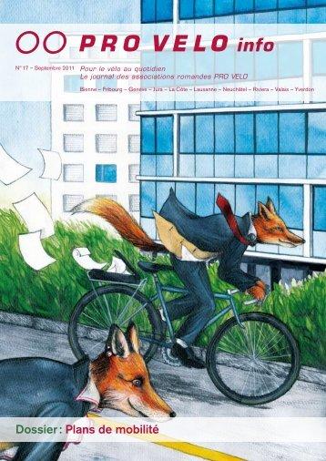 Dossier : Plans de mobilité - Pro Velo Schweiz