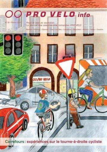 expériences sur le tourne-à-droite cycliste - Pro Velo Schweiz