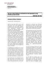 Jahresbericht 2006 - Pro Velo Schweiz
