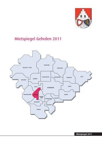 Mietspiegel Gehrden.indd - Pro Wohnen Hamburg