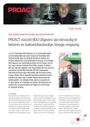 ProaCT voorziet BDU Uitgevers van eenvoudig te beheren en ...