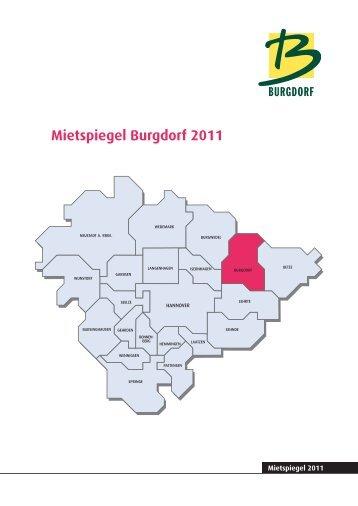 Mietspiegel Burgdorf 2011 - Pro Wohnen Hamburg