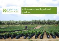 Equatorial Palm Oil One2One Investor Presentation - Proactive ...