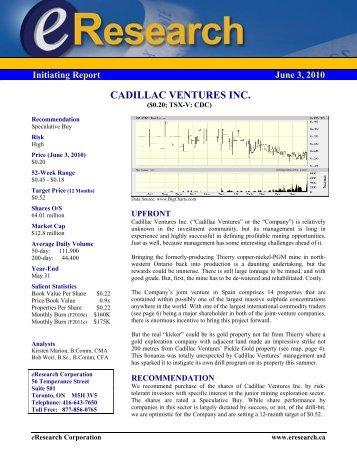 eResearch Initiating Report - Proactive Investors
