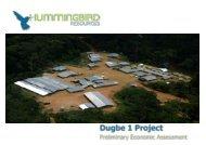 Hummingbird Resources One2One Investor Presentation 18th April ...