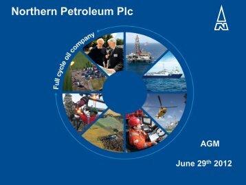 Download - Northern Petroleum Plc