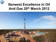 20 March 2012 - Norwest Energy