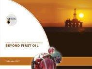 Afren (Presentation) - Proactive Investors