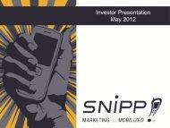 Corporate presentation Mar 2012 - Proactive Investors