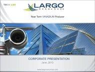 Largo Resources One2One Investor Presentation 6th June 2013