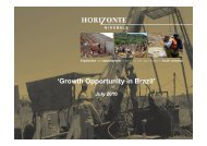 HZM Growth Opportunity in Brazil - Proactive Investors